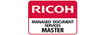 Ricoh Managed Document Services Master Logo